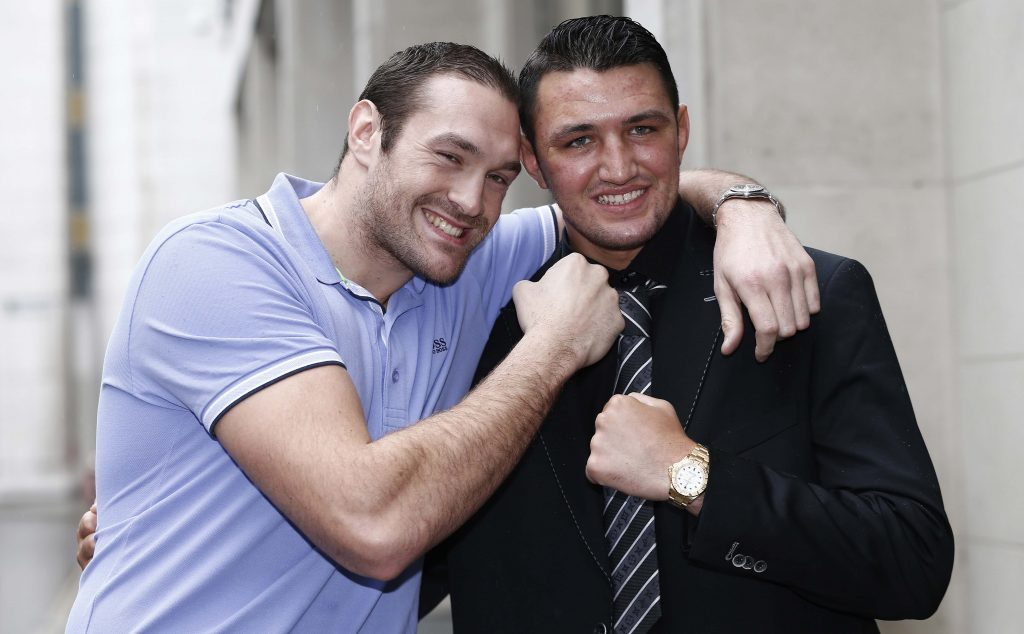tyson and hughie fury free to fight