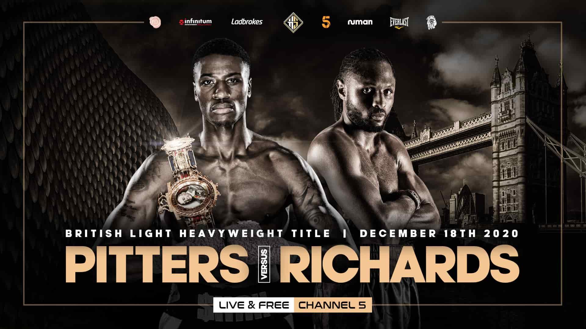 Shakan Pitters vs Craig Richards